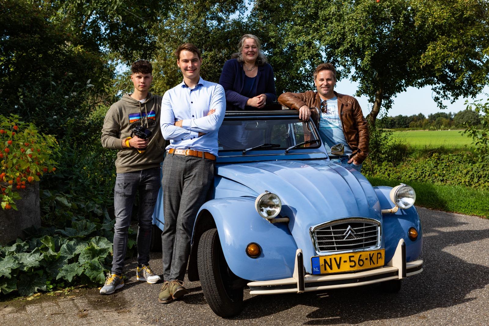 Gelukseend Donateurs Maarten Relker Jos Bosch Vedar Visuals Tiara Dijkhof